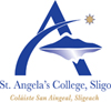 Saint Angela's College Sligo logo